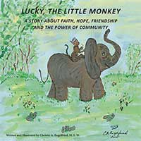Lucky, The Little Monkey Book Cover